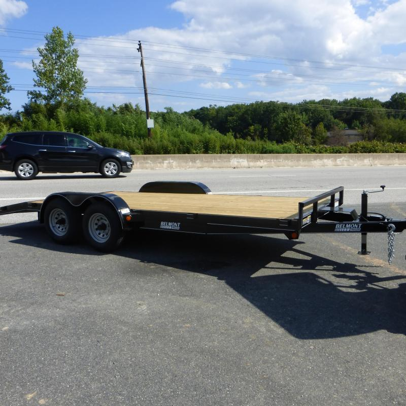 Belmont 7' x 18' 10K Wood Deck Car Hauler Trailer