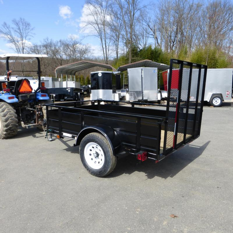 Carry-On 5' x 8' Landscape Solid Sides Utility Trailer