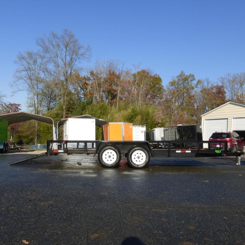 MCT 7' x 18' Tandem Axle Landscape Trailer