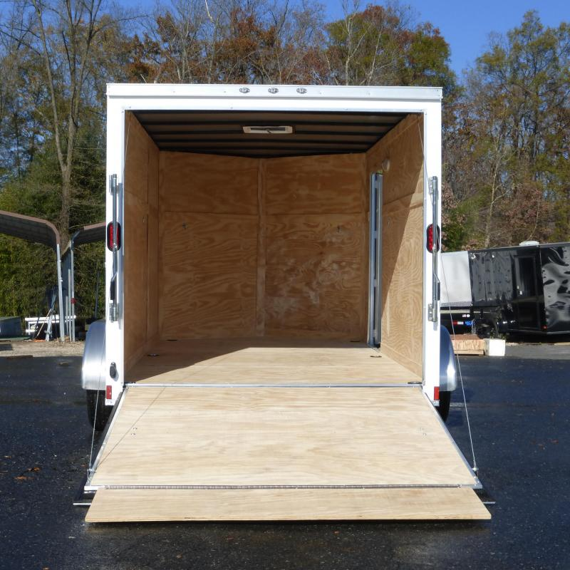 Diamond Cargo 7' x 14' Tandem Enclosed Trailer  w/ Ramp