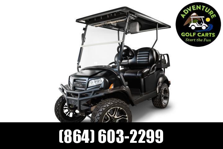 2020 Club Car Onward Eclipse Special Edition Lifted Gas Golf Cart - 4 Passenger