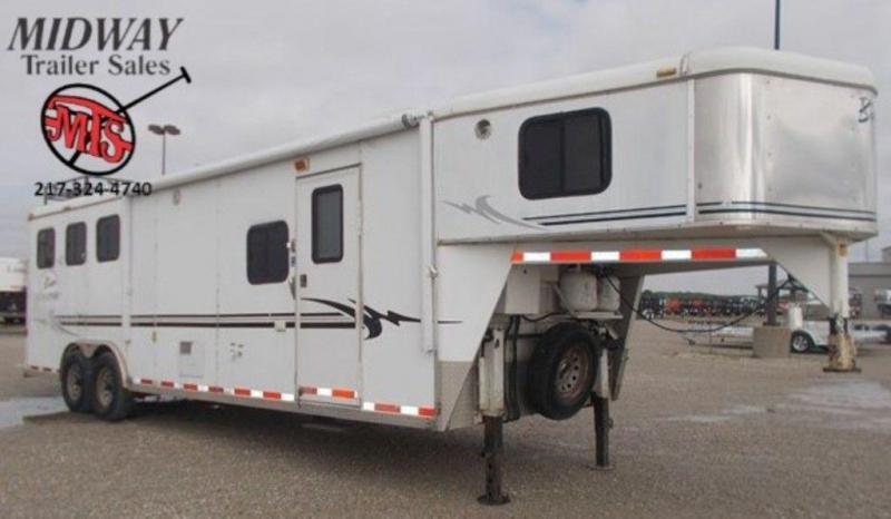 2004 Bison AlumaSport 8310 3H Trailer w/ 10' SW and 6' Slide