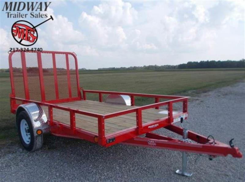 "2020 PJ Trailers 72"" x 10' Single Axle Channel Utilty Trailer"