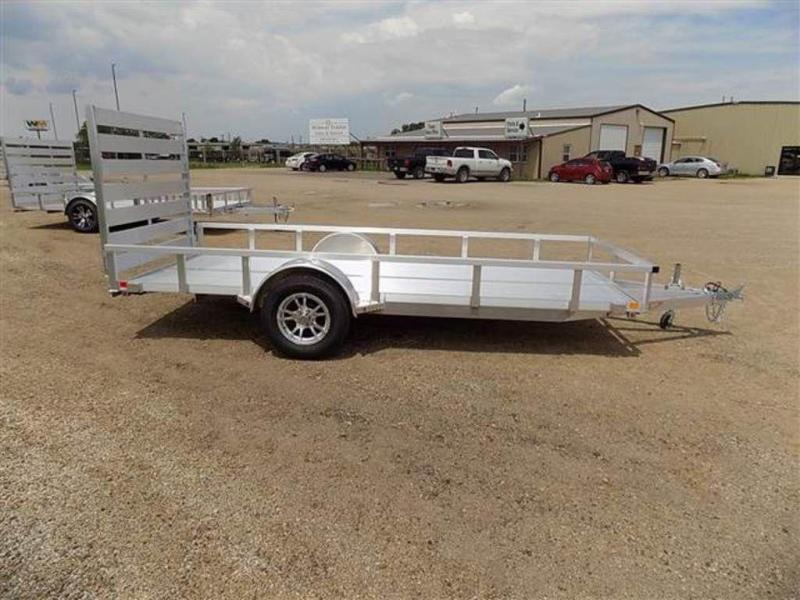 2018 H and H Trailers 5.5 x 14 RS Single Axle Aluminum Utiltiy Trailer