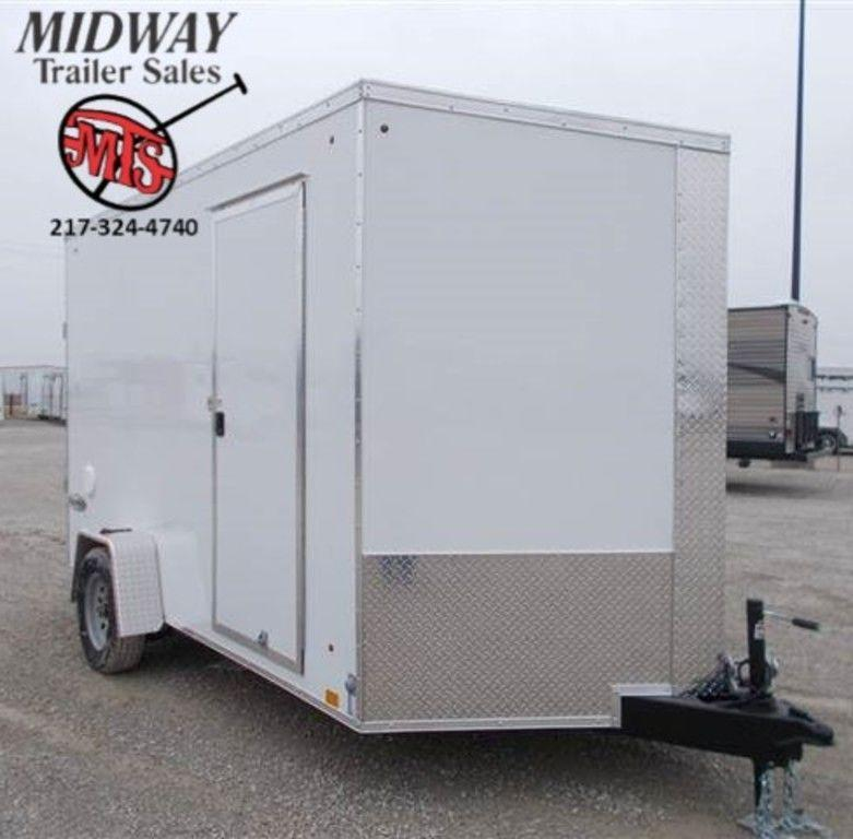 2020 Look Trailers Element SE 7 x 12 Single Axle Enclosed Cargo Trailer