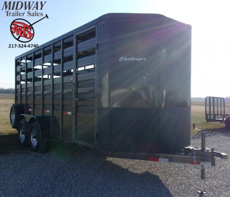 "2020 Titan Trailer 6'8"" X 7'6"" X 18' Challenger Stock BP"