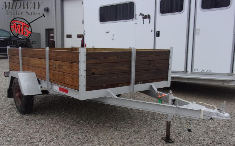 1986 Homemade 5' X 10' Utility SA BP Utility Trailer