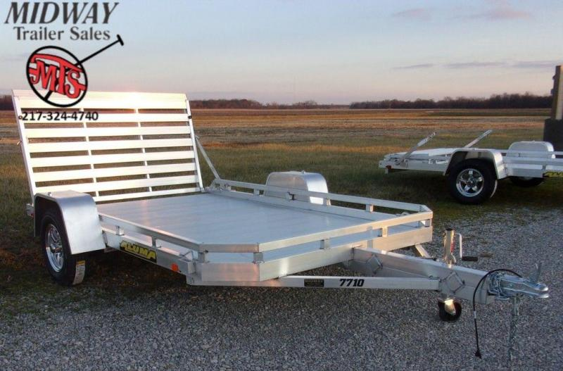 2020 Aluma 7710 Single Axle Utilty Trailer