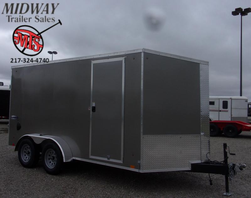 2021 Look Trailers Element SE 7 X 14' TA BP Enclosed Cargo Trailer