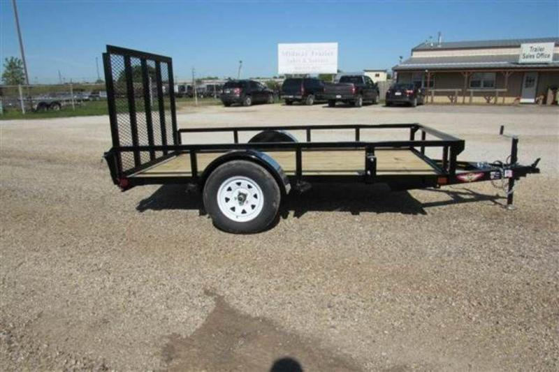 """2020 H and H Trailers 66"""" x 10' RS Single Axle Utiltiy Trailer"""
