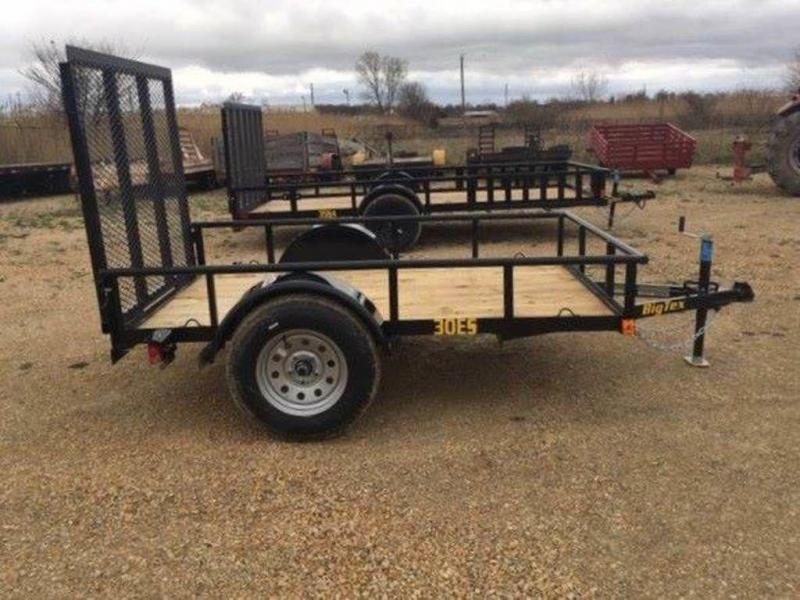 "2019 Big Tex Trailers 60"" x 8' Economy Single Axle Utility Trailer"