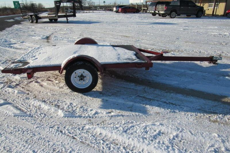 2003 Barron 8' Single Axle Utility Trailer