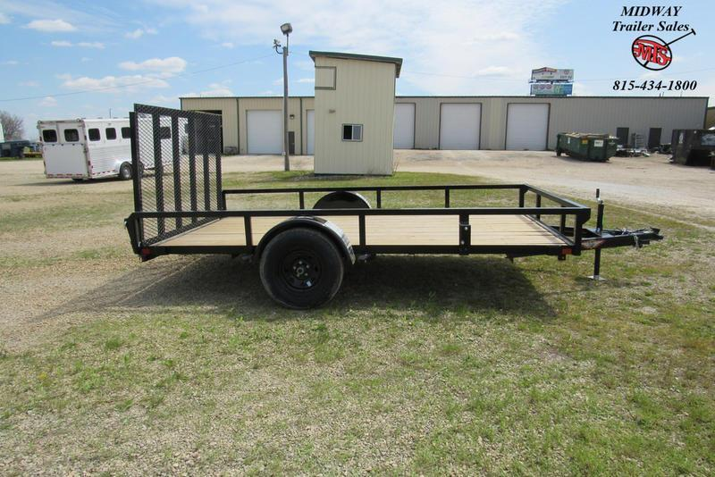 2020 H and H Trailer 82 X 12' RS Utility SA BP Utility Trailer