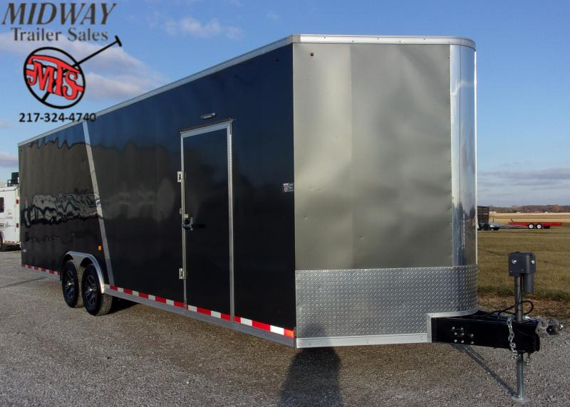 2020 Look Trailers Vision 8.5 X 28' TA BP Enclosed Cargo Trailer