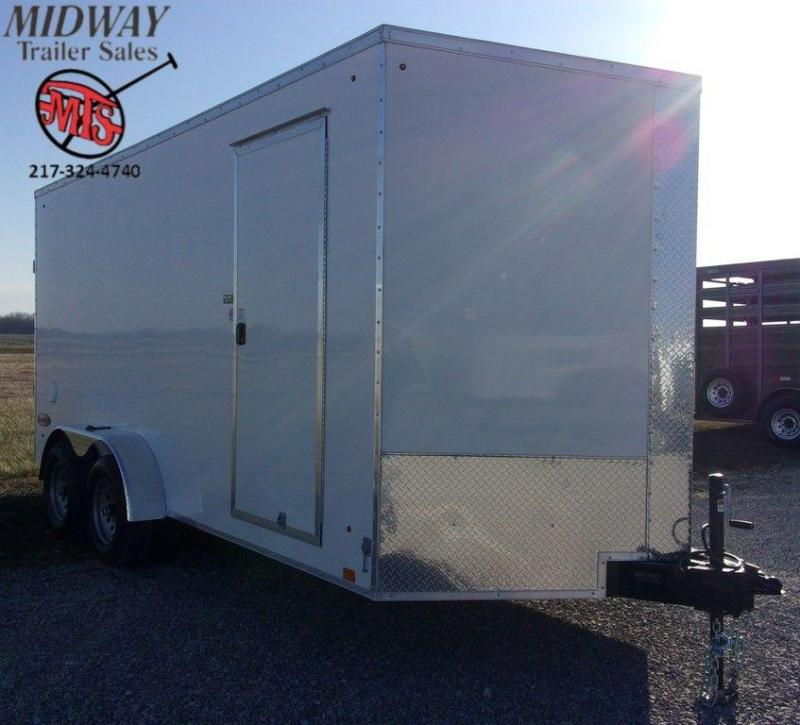 2020 Look Trailers Element SE 7 x 16 Tandem Axle Enclosed Cargo Trailer
