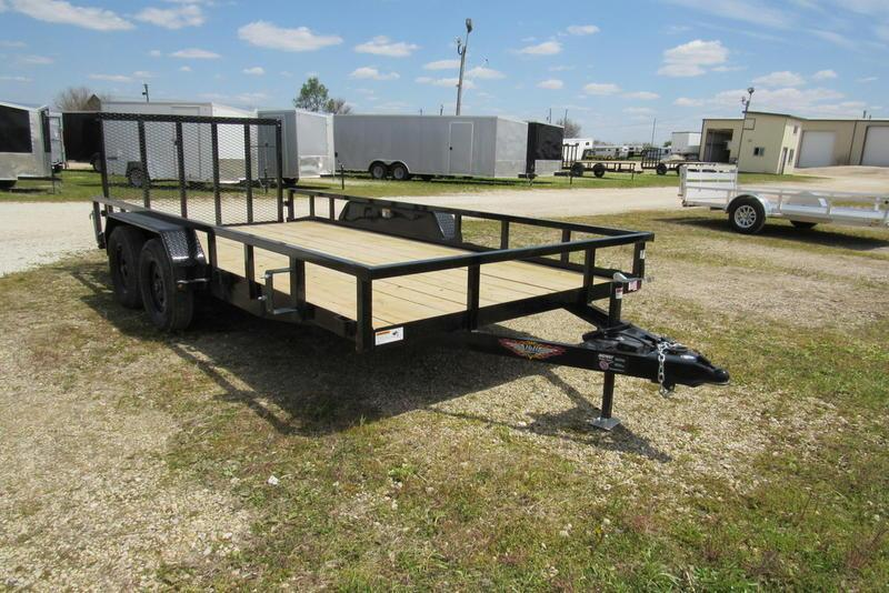 2020 H and H Trailer 82 X 16' (14+2) RSD Utility TA BP Utility Trailer