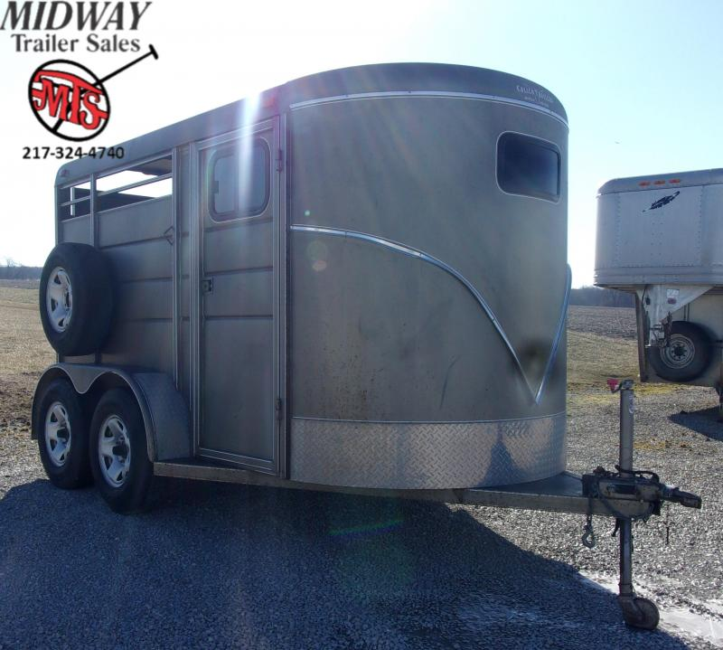 2009 Calico Trailers 2H w/ 1' SW Dress BP Horse Trailer