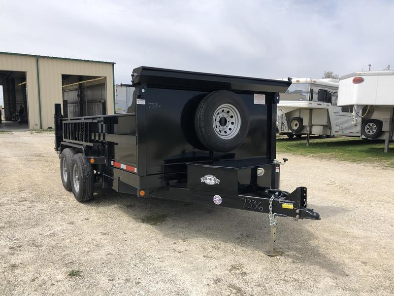 2020 Quality Steel and Aluminum 83 X 14' Dump TA BP Dump Trailer