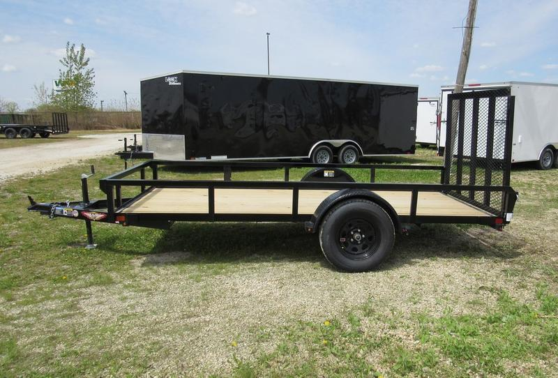 2020 H and H Trailer 66 X 12' RS Utility SA BP Utility Trailer