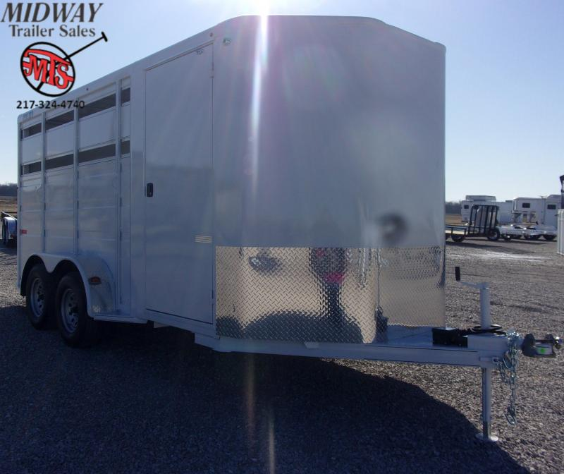 "2020 Titan Trailers Primo 3H w/ 24"" Dress BP Horse Trailer"