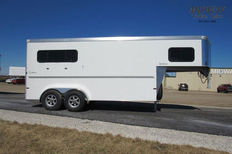 2021 Sundowner Trailers Sportman 3H w/ Dress Horse Trailer
