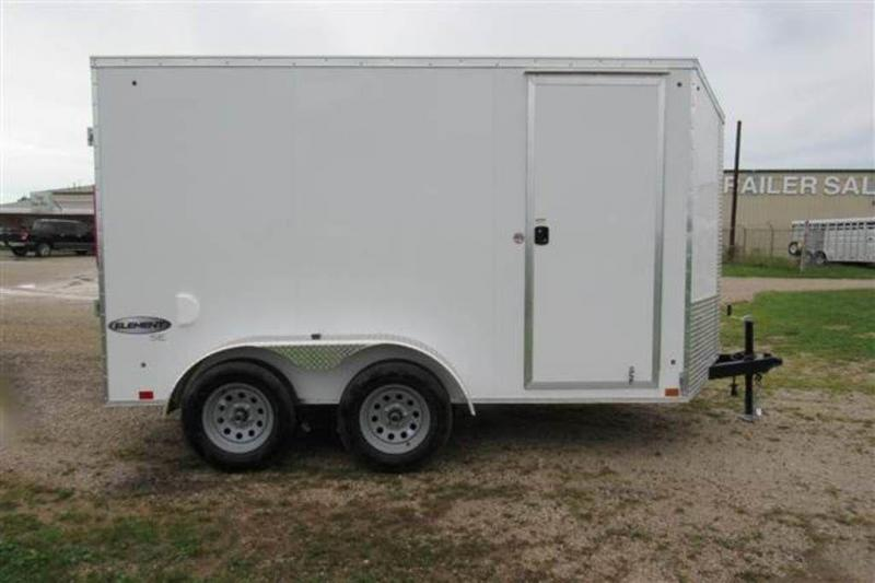 2020 Look Trailers Element 6 x 12 Tandem Axle Enclosed Cargo Trailer