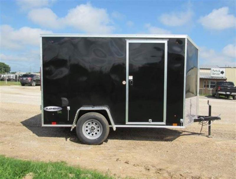 2020 Look Trailers Element SE 6 x 10 Single Axle Enclosed Cargo Trailer