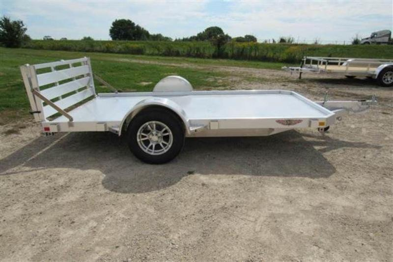 "2020 H and H Trailers 78"" x 12' LSA Single Axle Aluminum Utiltiy Trailer"