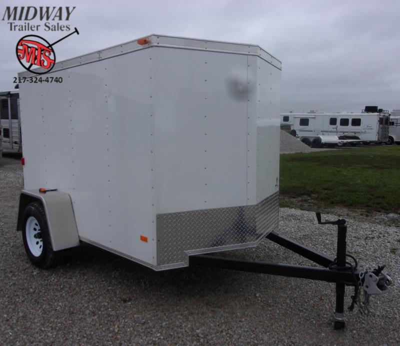 2009 Cargo Express 5 X 8' Cargo SA BP Enclosed Cargo Trailer