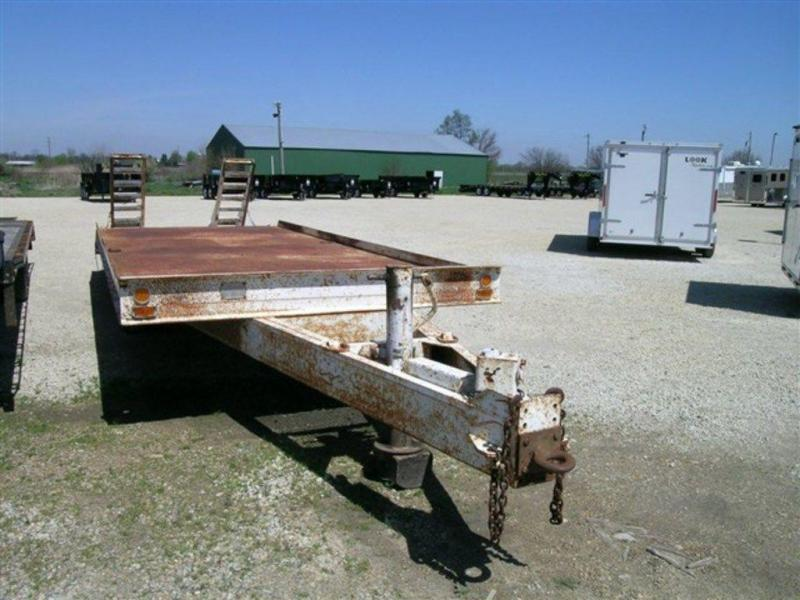"1980 Butler Trailer MFG Co 94"" x 22' Pintle Hitch Trailer"