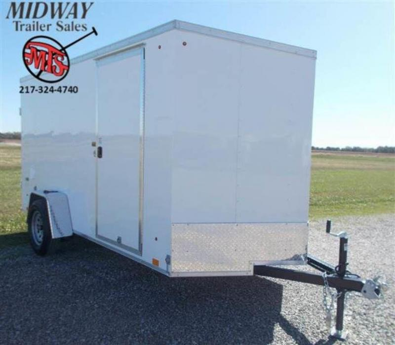 2020 Look Trailers ST DLX 6 x 12 Single Axle Enclosed Cargo Trailer