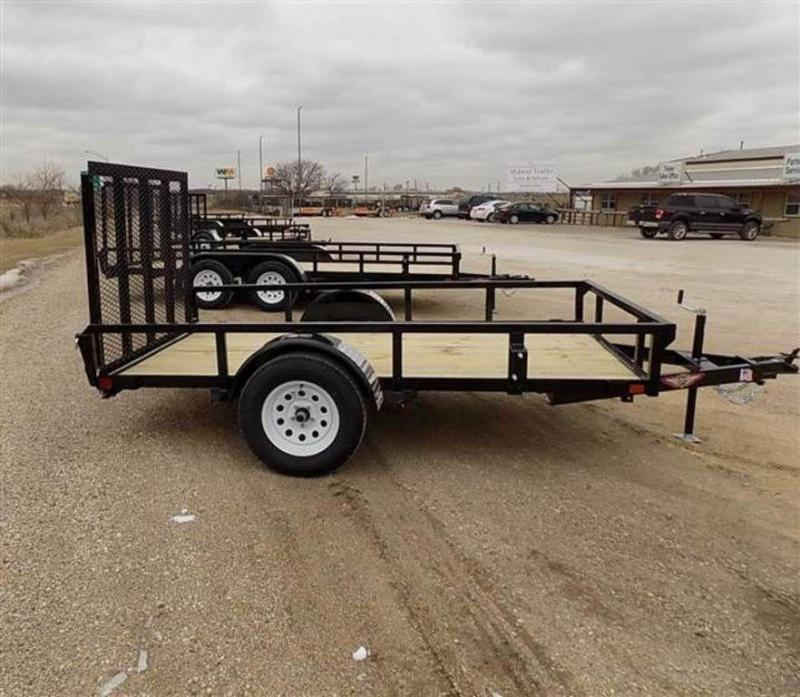 """2019 H and H Trailers 66"""" x 10' RS Single Axle Utiltiy Trailer"""