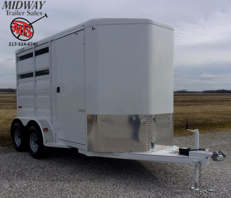 "2020 Titan Trailers Primo 2H w/ 24"" Dress Horse Trailer"