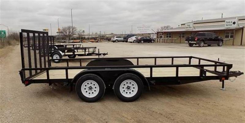 "2019 H and H Trailers 82"" x 16' RS Tandem Axle Utiltiy Trailer"