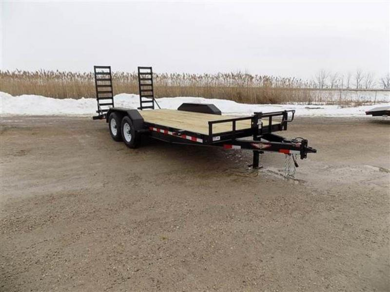 "2018 H and H Trailers 82"" x 18' Industrial Flatbed Trailer"