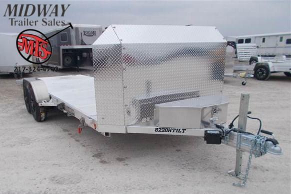 2020 Aluma 8220H Tilt Anniv Utility TA BP Utility Trailer