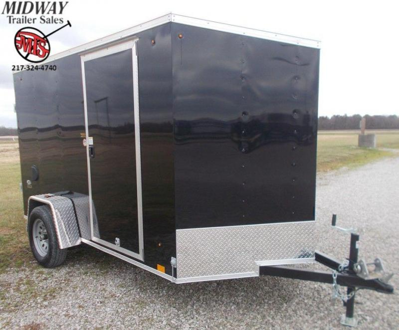 2020 Look Trailers ST DLX 6 x 10 Single Axle Enclosed Cargo Trailer