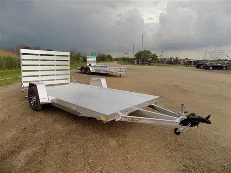 "2019 H and H Trailers 82"" x 14' Single Axle Aluminum Utiltiy Trailer"