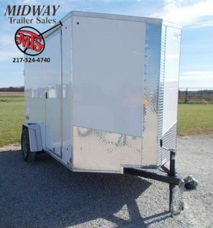 2019 Look Trailers Element SE 6 x 10 Single Axle Enclosed Cargo Trailer
