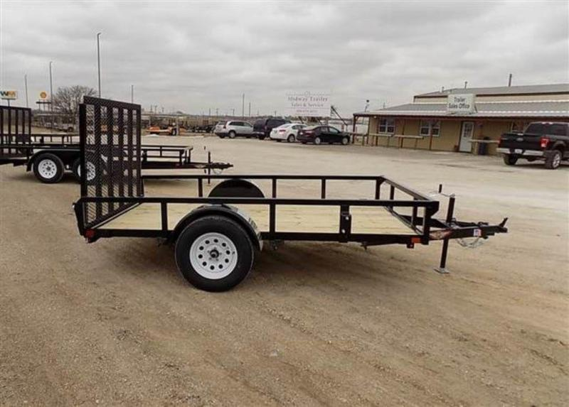 """2019 H and H Trailers 76"""" x 10' RS Single Axle Utiltiy Trailer"""