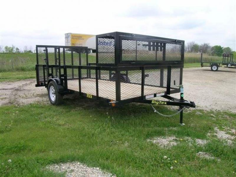 "2017 Big Tex Trailers 83"" x 14' Single Axle Landscape Utility Trailer"