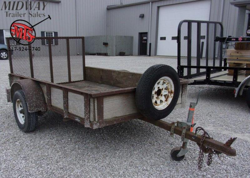 1993 Ly-Mar 5' X 8' Single Axle Utility Trailer
