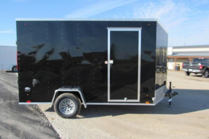 2020 Look Trailers ST DLX 7 x 12 Single Axle Enclosed Cargo Trailer