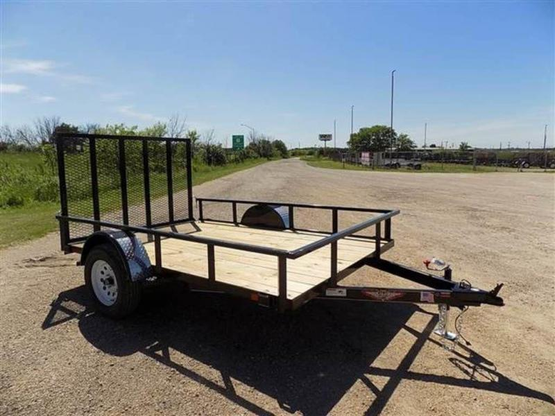 2018 H and H Trailers 8.5 x 10 RS Single Axle Utiltiy Trailer
