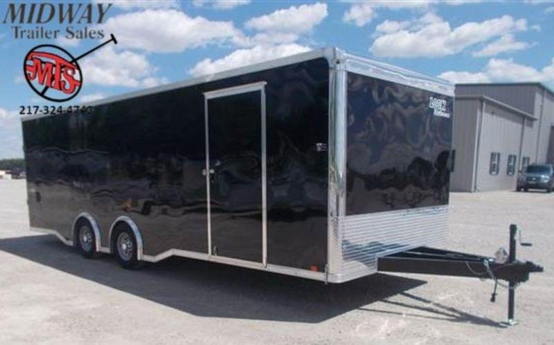 2020 Look Trailers Vision Auto 8.5 x 24 Enclosed Car Hauler