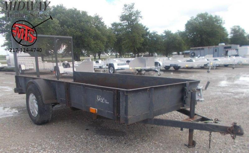 1995 Hogwild 5 x 12 Single Axle Utility Trailer