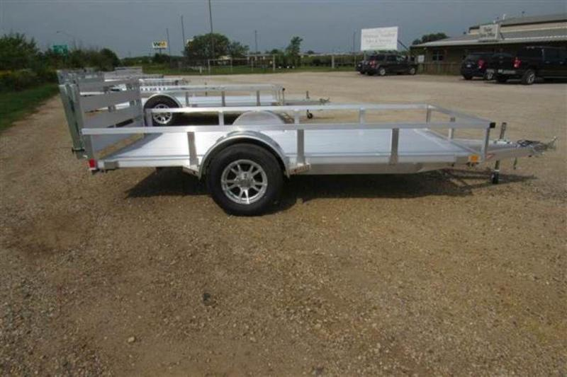 "2020 H and H Trailers 66"" x 12' RS Single Axle Aluminum Utiltiy Trailer"