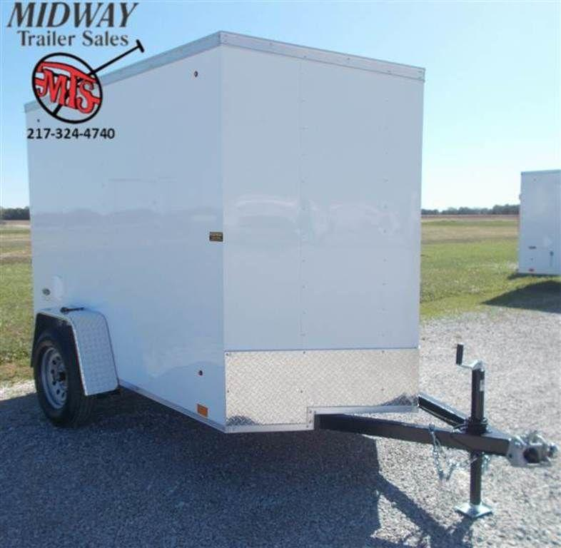 2020 Look Trailers ST DLX 5 x 8 Single Axle Enclosed Cargo Trailer