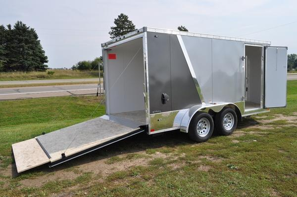 2020 Stealth Trailers 7 x 14 Two Tone Motorcycle Trailer For Sale