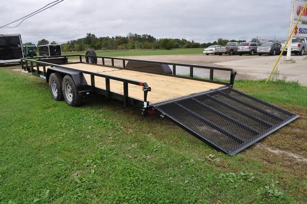 2020 Sure-Trac 7 x 22 Tube Top Utility Trailer For Sale